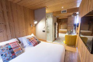 Hôtel Les Cabanes Chambéry chambre